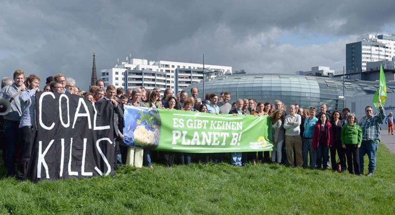 Klimahaus Klimakonferenz der Grünen 26.9.15 Foto Scheer
